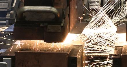Flash butt-welding